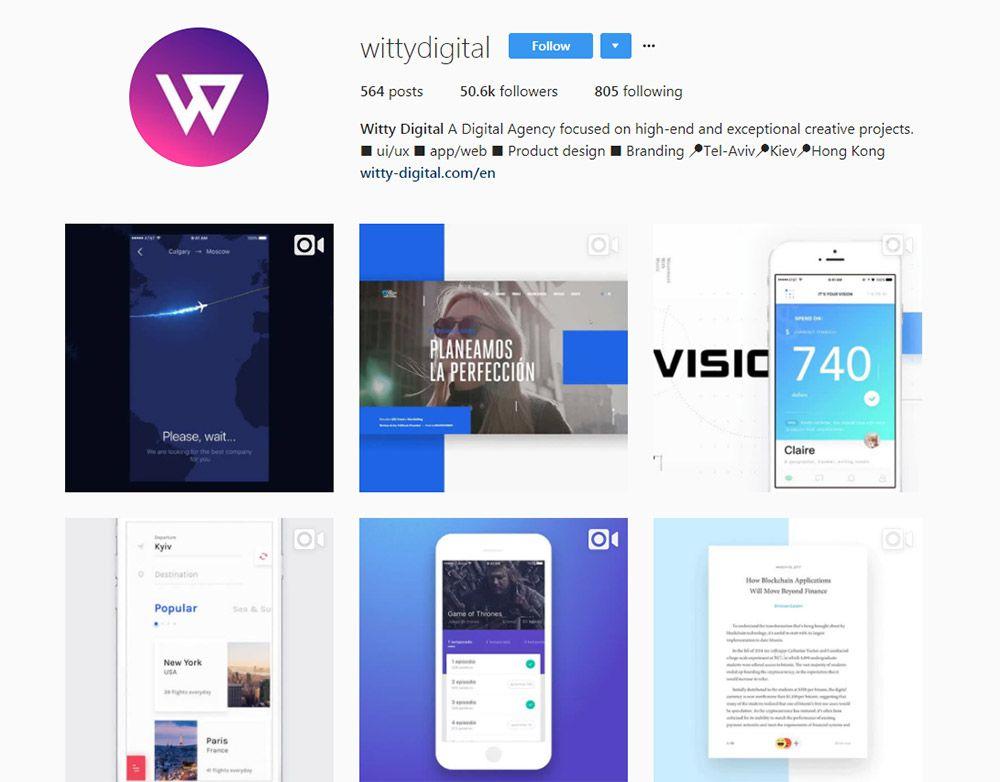 wittydigital instagram