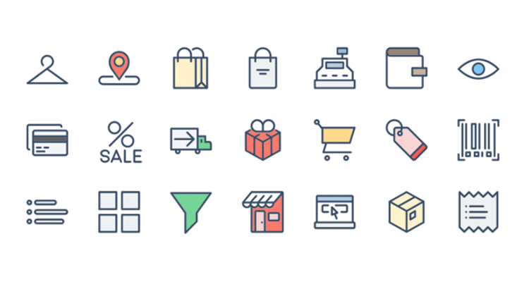 10 Free Icon Sets for Ecommerce UI Design