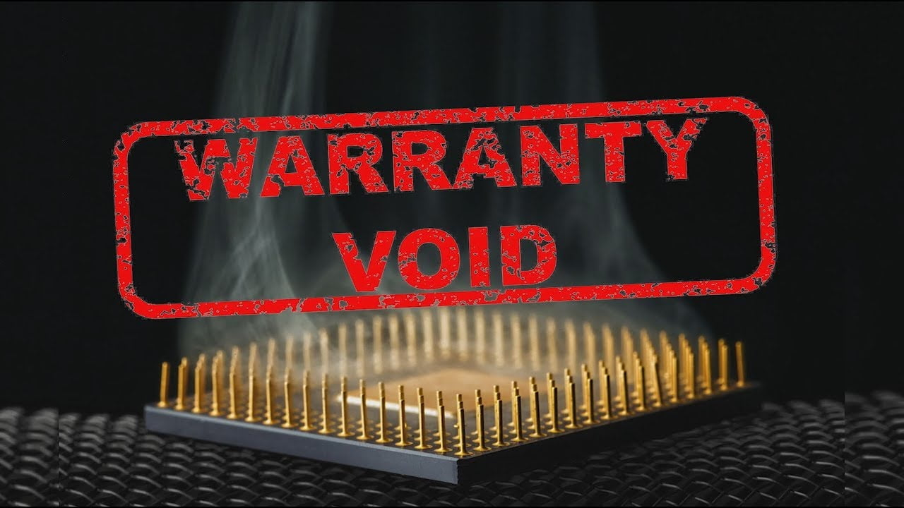 Why Does Overclocking Void Your Guarantee? | Webilicious