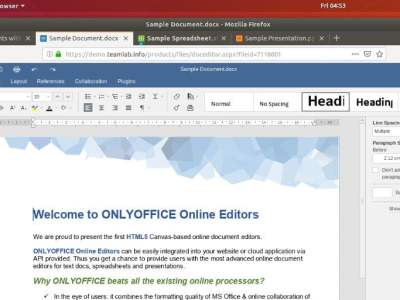 How to install ONLYOFFICE 10.0 on Ubuntu 18.04 LTS