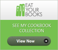 My EatYourBooks cookbook collection
