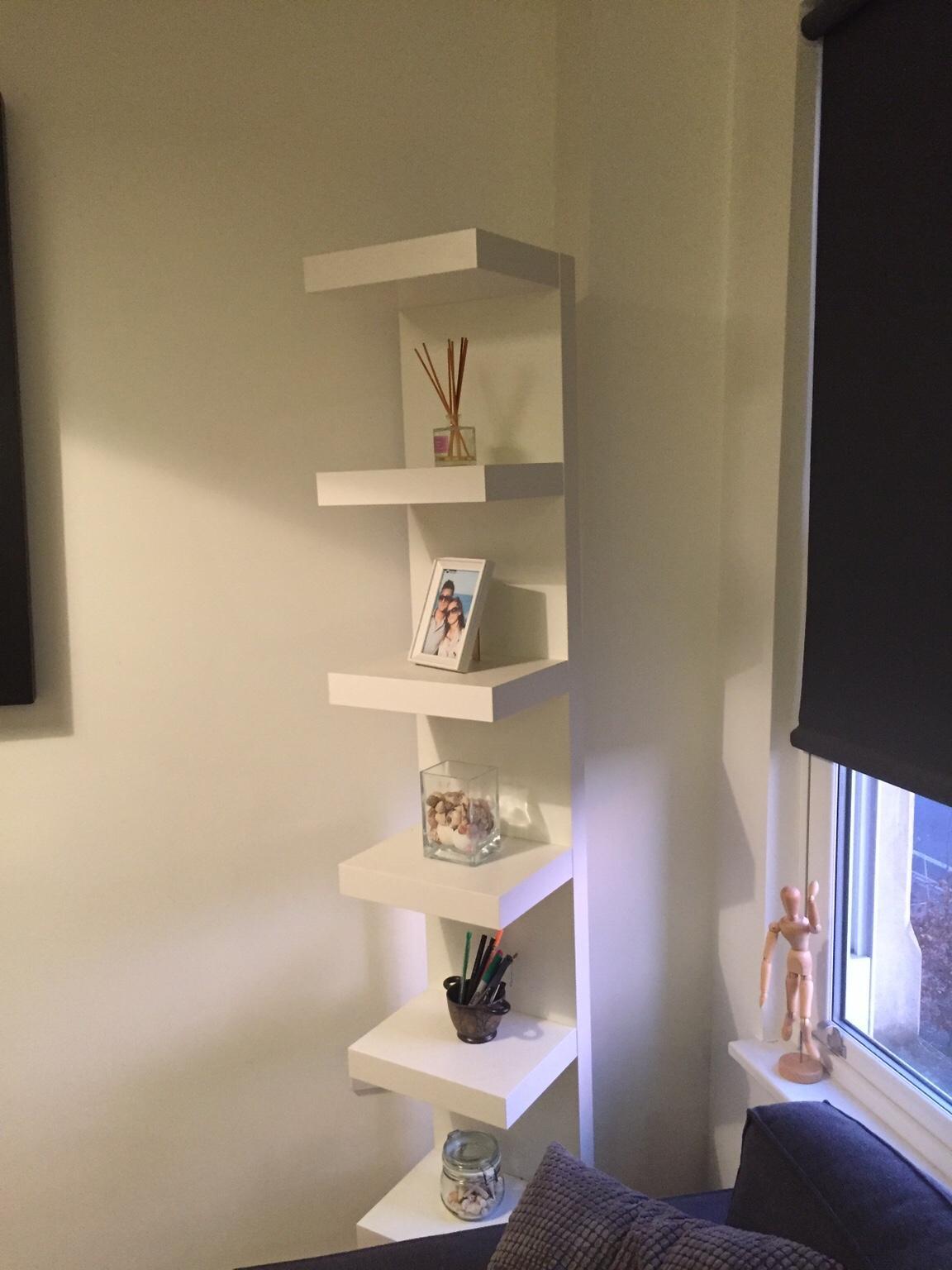 Ikea Lack Wall Shelf Unit White
