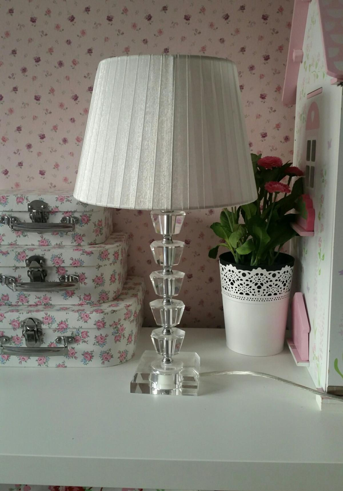 Set Of 2 Bhs Glass Table Lamps In Dartford For 20 00 For Sale Shpock