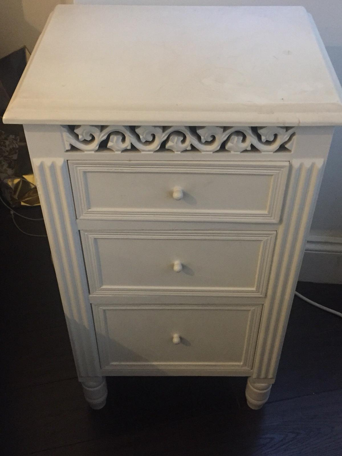 Shabby Chic Bedside Cabinet In Ha5 Pinner For 20 00 For Sale Shpock