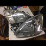 Ep3 Type R Preface Lift Headlights And Hids In Ub4 Hayes For 60 00 For Sale Shpock