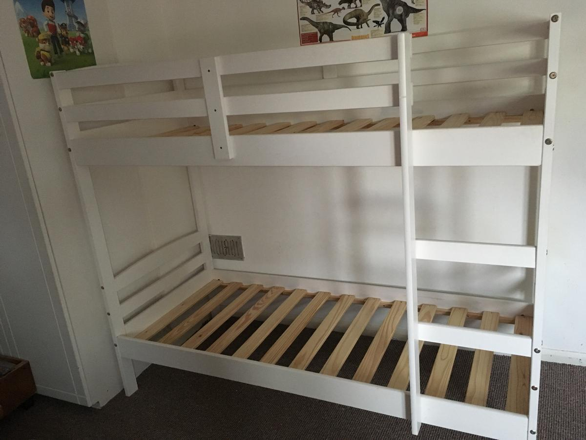 White Bunk Bed Frame Argos In Br5 Orpington For 90 00 For Sale Shpock