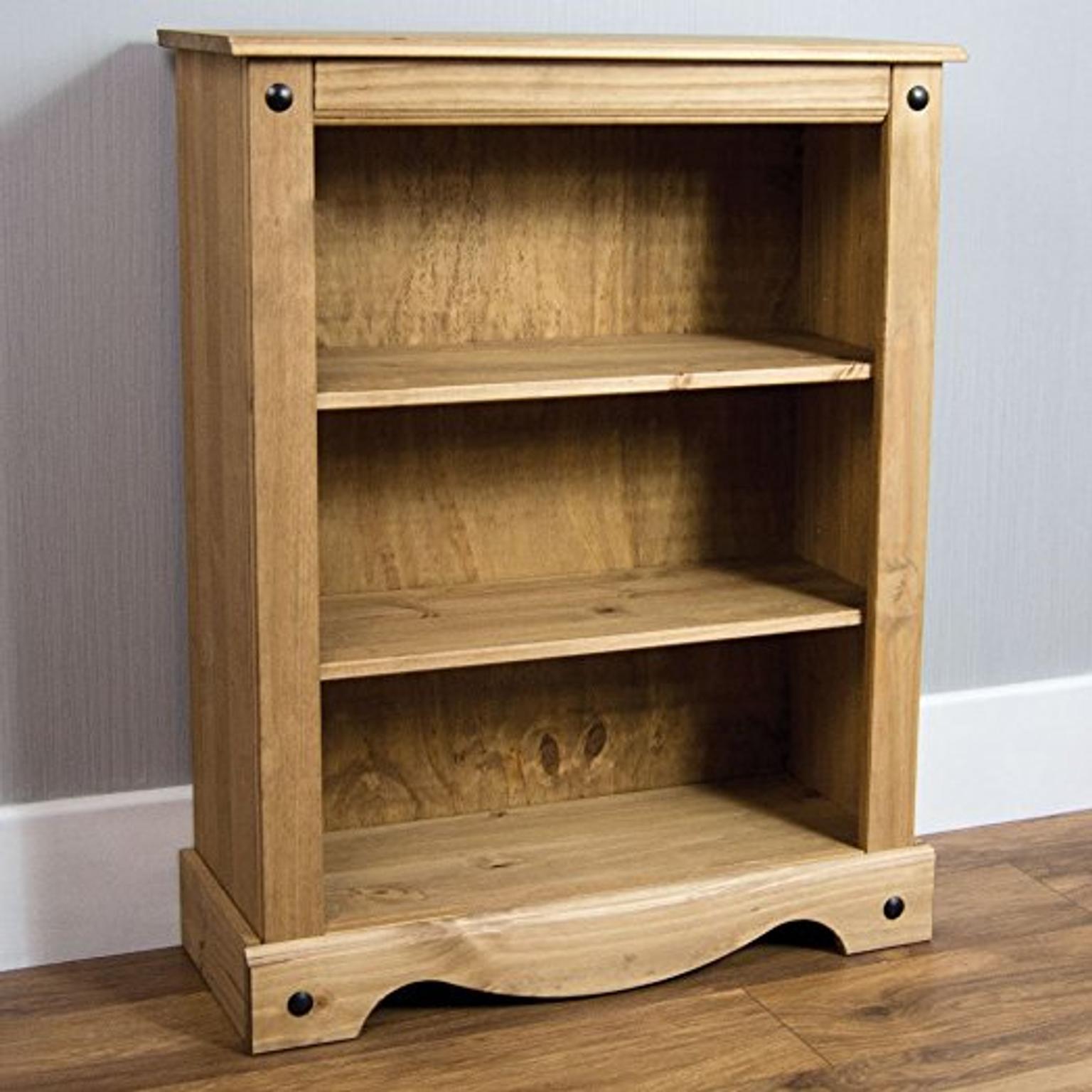 New Corona Low Bookcase 64 99