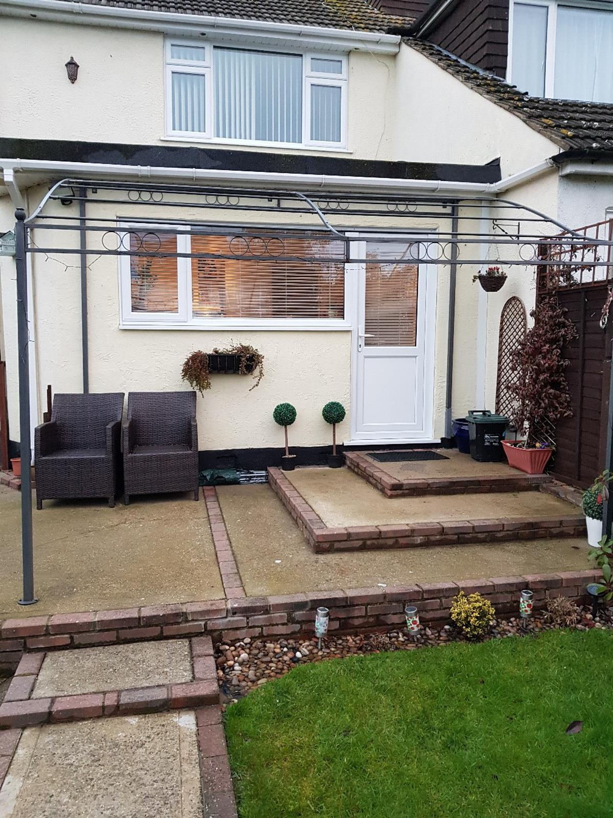 wall mounted gazebo cover in ss14