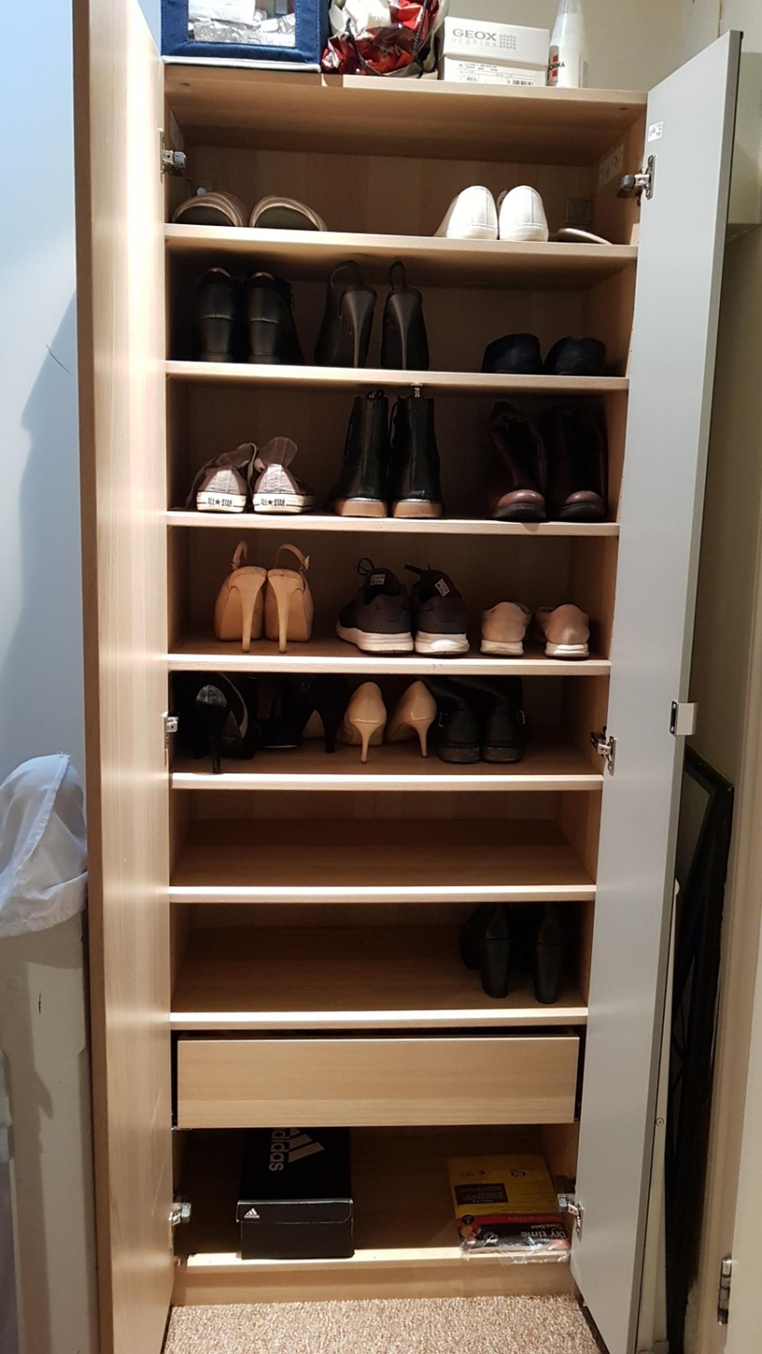 ikea pax nexus vikedal wardrobe shoe rack