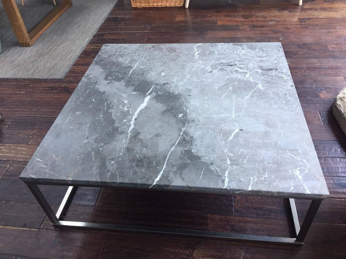 marble coffee table dwell