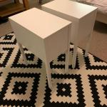 Pair Of Ikea Nordli Bedside Tables White In Sw1a Westminster For 35 00 For Sale Shpock