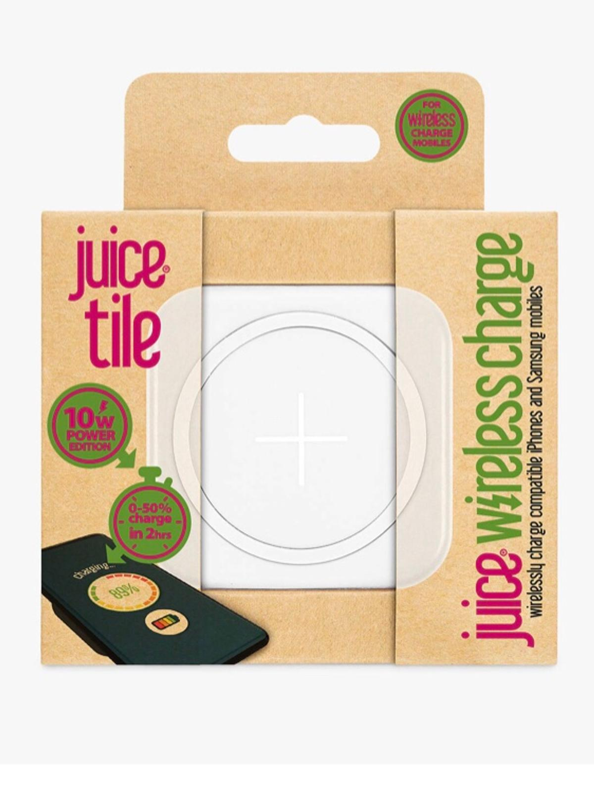 wireless charger juice tile 10w fast