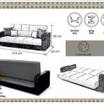 Fabric Malta 3 Seater Sofabed In E1 0ae London For 229 00 For Sale Shpock