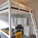 Double Loft Bed Corner Desk And Chair Sofa In B14 Birmingham For 100 00 For Sale Shpock