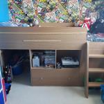 Childrens Cabin Storage Bed In Ch66 Ellesmere Port For 70 00 For Sale Shpock