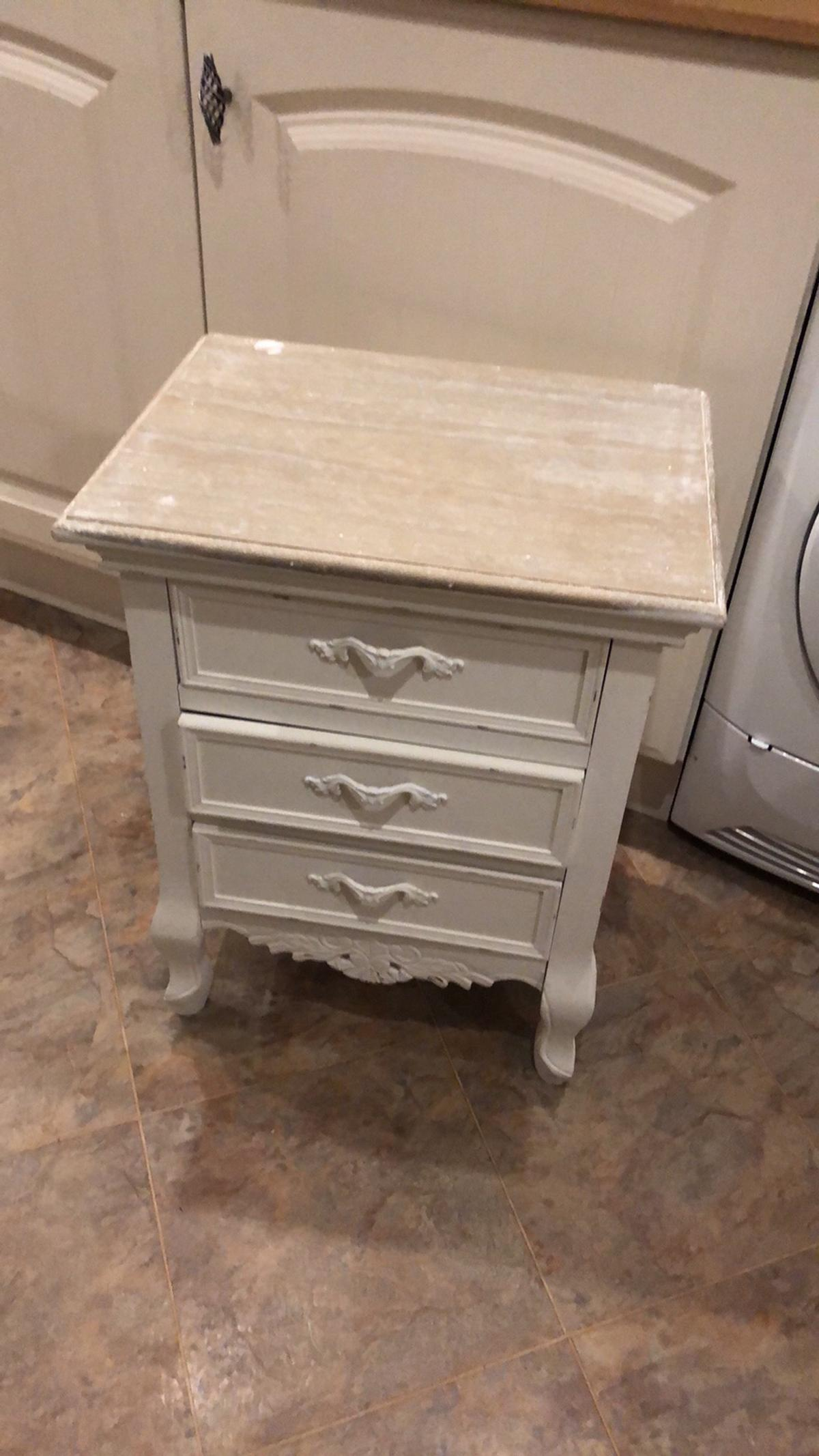 Shabby Chic Bedside Table In Ws12 Chase For 45 00 For Sale Shpock