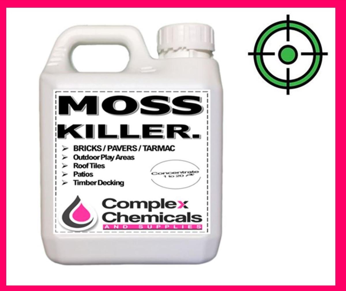 moss killer patio concentrate 5l in