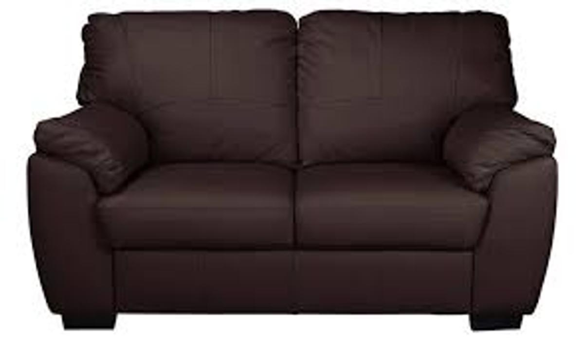 Milano 2 Seater Leather Sofa Chocolate In Swindon For 240 00 For Sale Shpock