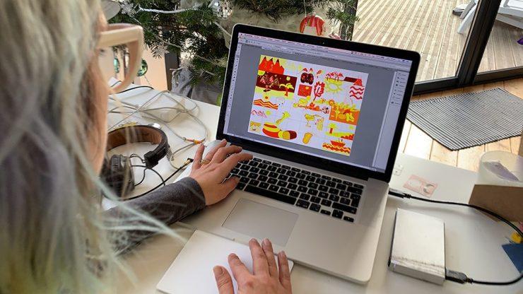 Animation de Leadership Collaboratif en Télétravail par ana artiste team building webinaire.games