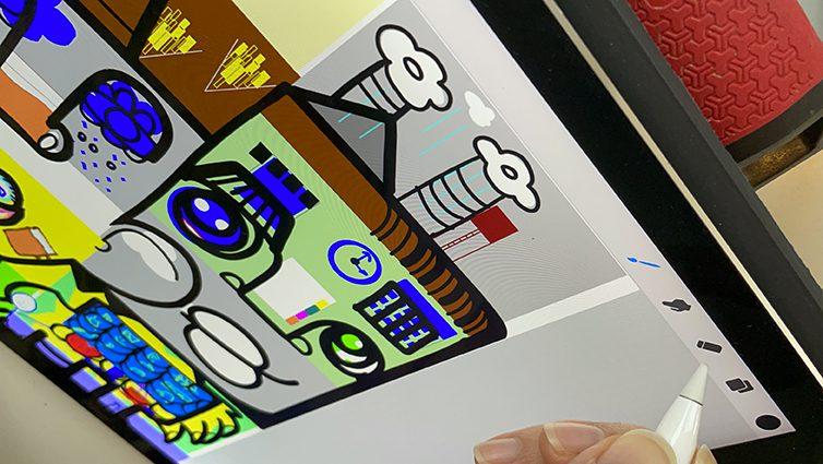 Exemple de Brainstorming à Distance Fresque Digitale en animation séminaire et réunion de team Building télétravail