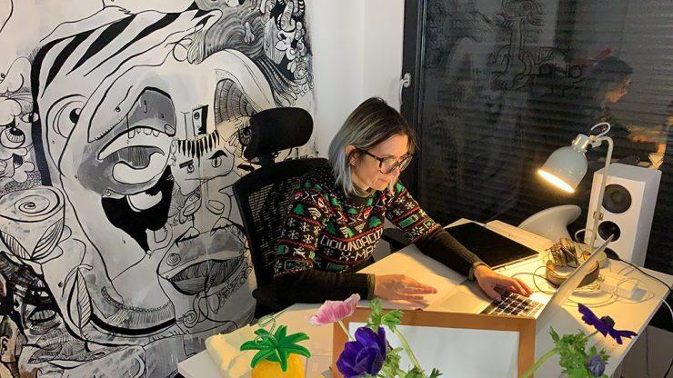 idée Icebreaker en Télétravail fresque digitale collaborative à distance