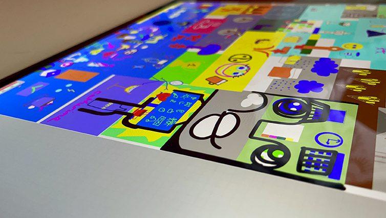 Idée Animation Cohésion à distance Fresque interactive en Télétravail sur logiciel paint webinaire.games