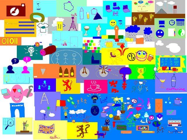 Mur d'idées à distance fresque digitale outil de cohésion en télétravail