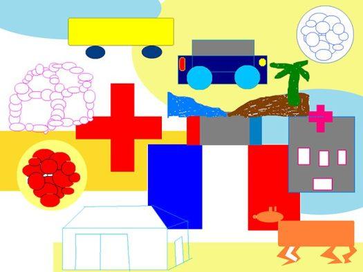 Fresque Les Droits de l'enfant