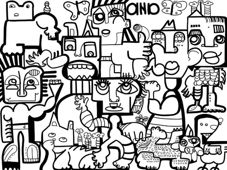 Idée Animation Fresque en Télétravail
