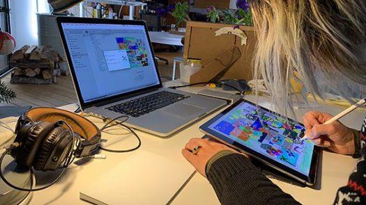 Team Building Digital animation Visioconférence et séminaire distanciel