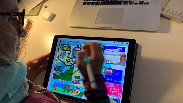 Animation Digitale Design Thinking à Distance par aNa artiste