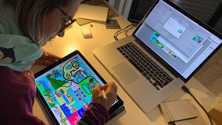 Idée Animation Digitale Design Thinking à Distance