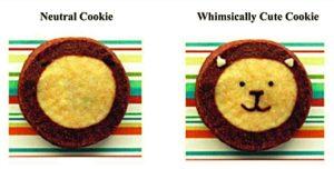 Cookies divertidos nos fazem comer mais