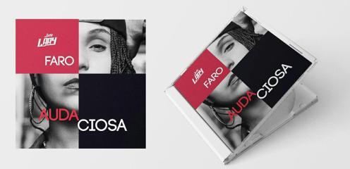 Prévia da capa do EP 'Faro', primeira parte do álbum 'Audaciosa'