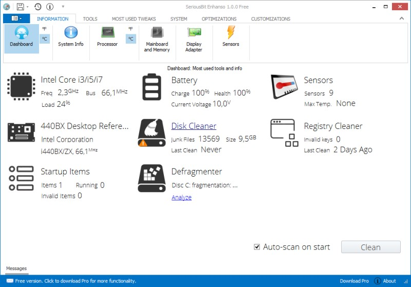 enhanso for win10