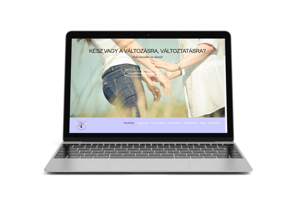 Gyémántfa – web design