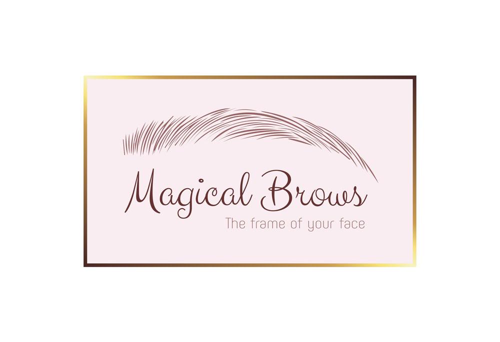 Magical Brows logo & branding