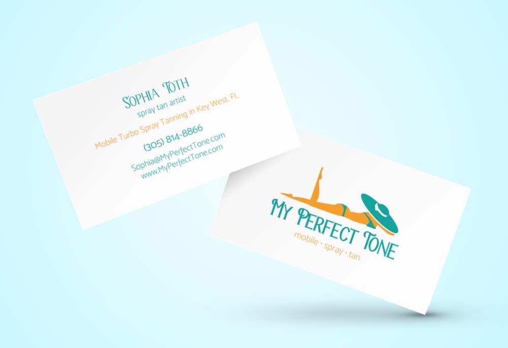 My Perfect Tone – business card
