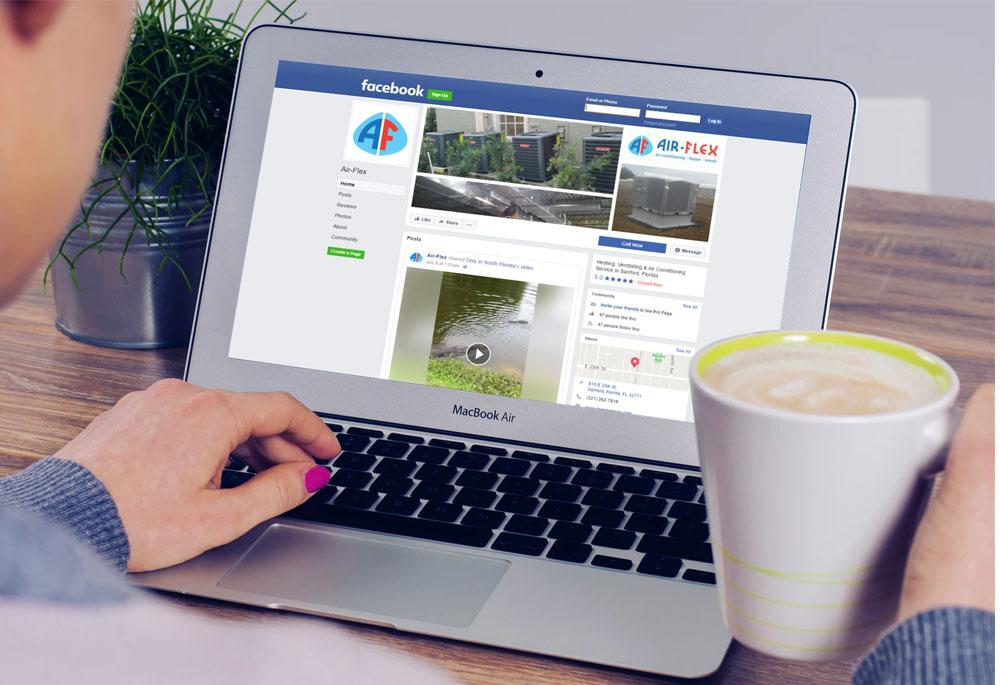 Air-Flex Inc. social media