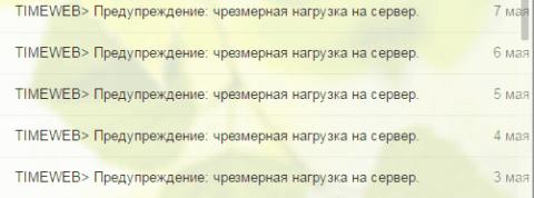 Недостатки хостинга timeweb