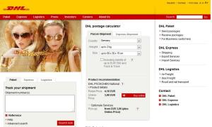 DHL Германия. Кликните для увеличения картинки