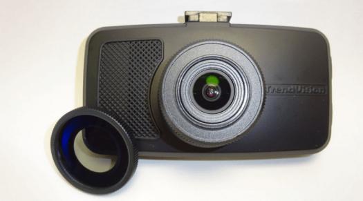 Trendvision TDR-719S Ultimate со светофильтром.Фото.