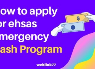 HOW TO APPLY FOR EHSAS EMERGENCY CASH PROGRAM