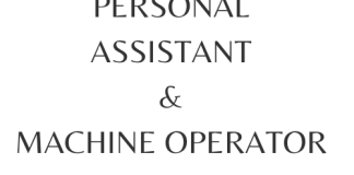 Personal Assistant Chairperson Dubai, Wrapping Machine Operator Job