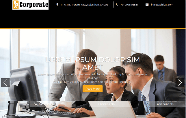 corporate premium html website templates