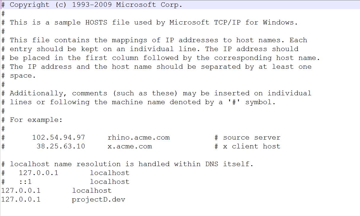 Virtual host xampp laravel free