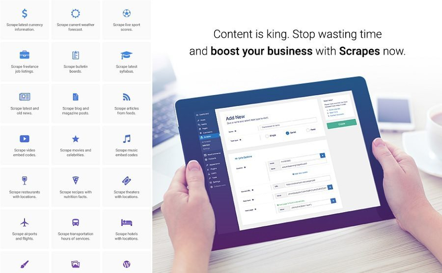 9 Plugins To Enhance Your WordPress Site scrapes