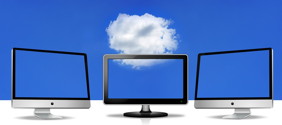 Cloud Computing Considerations three desktops