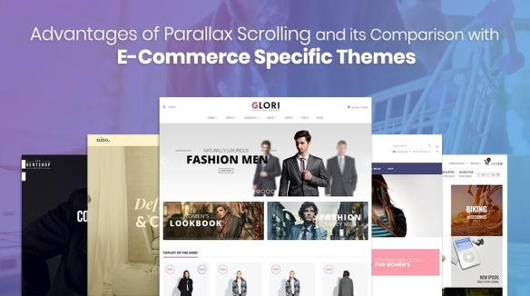 Advantages of Parallax Scrolling and its Comparison with E