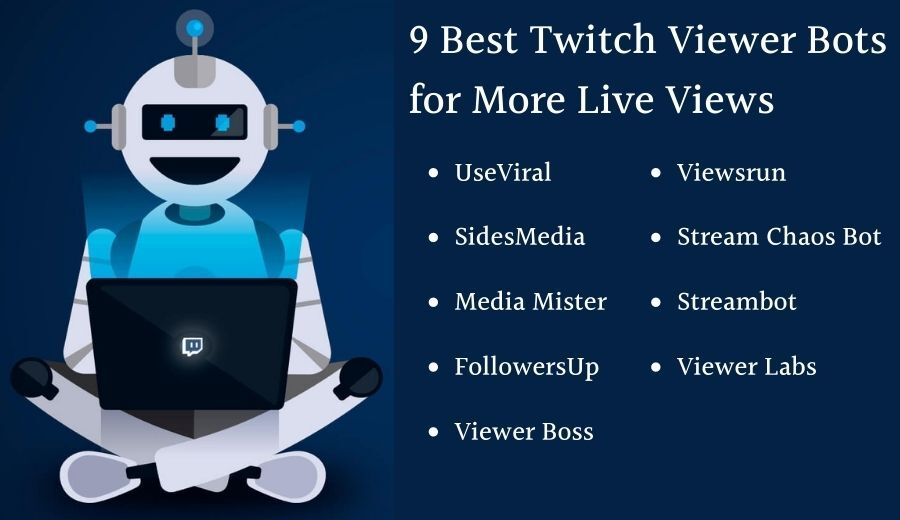 9-Best Twitch Viewer Bots For More-Live View